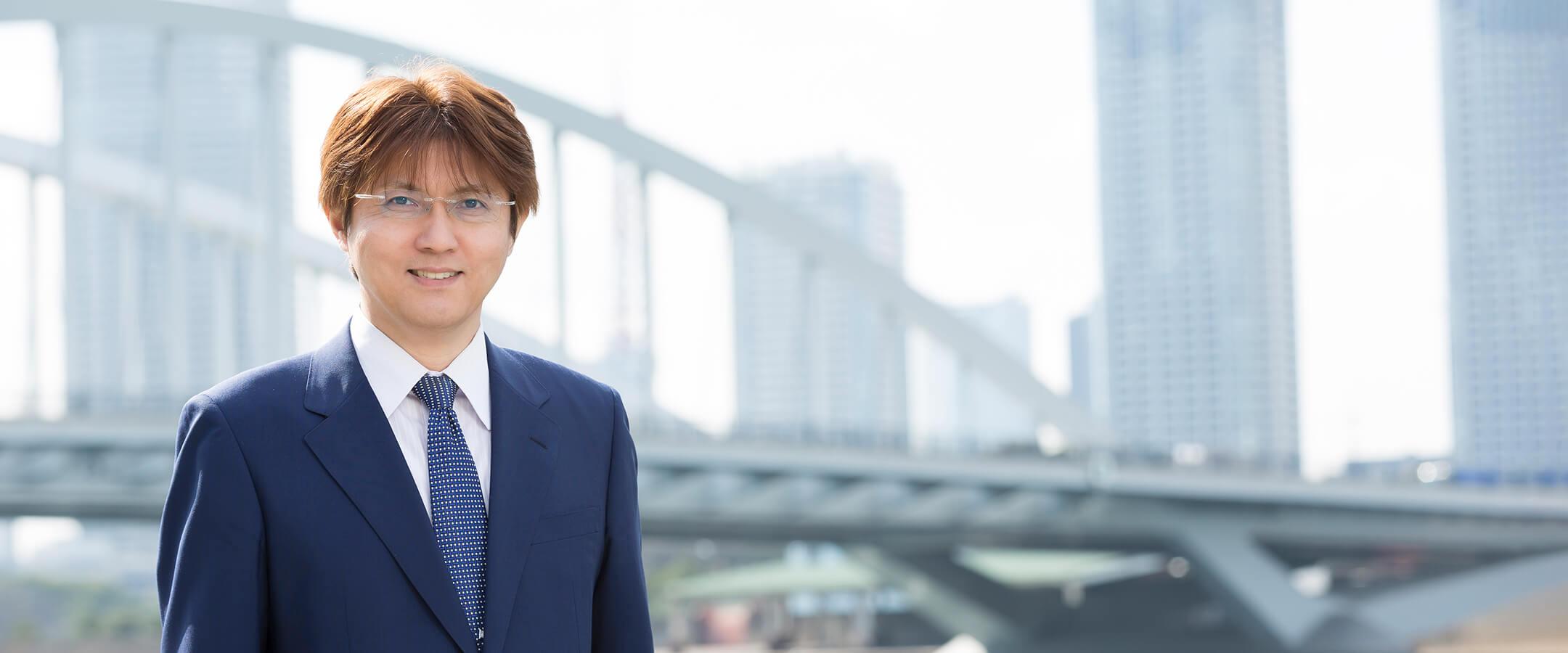 代表取締役 後藤孝憲